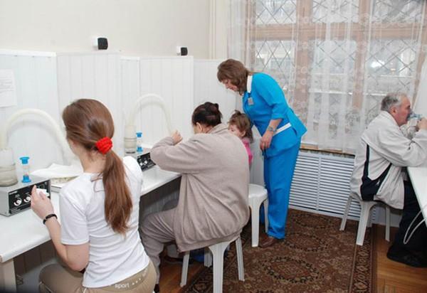 Санаторий им. Кирова | Лечебная база