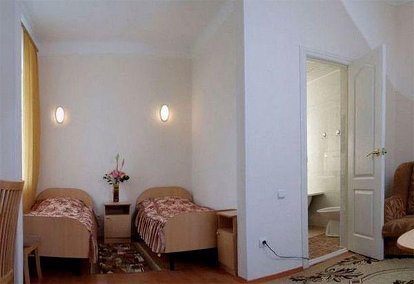 Санаторий Центросоюза РФ | 2-местный  2-комнатный  улучшенный номер