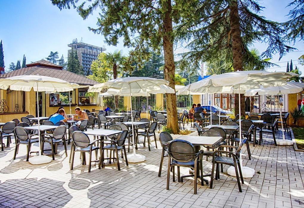 "Пансионат ""Сан-Марина"" | К услугам гостей. Кафе"