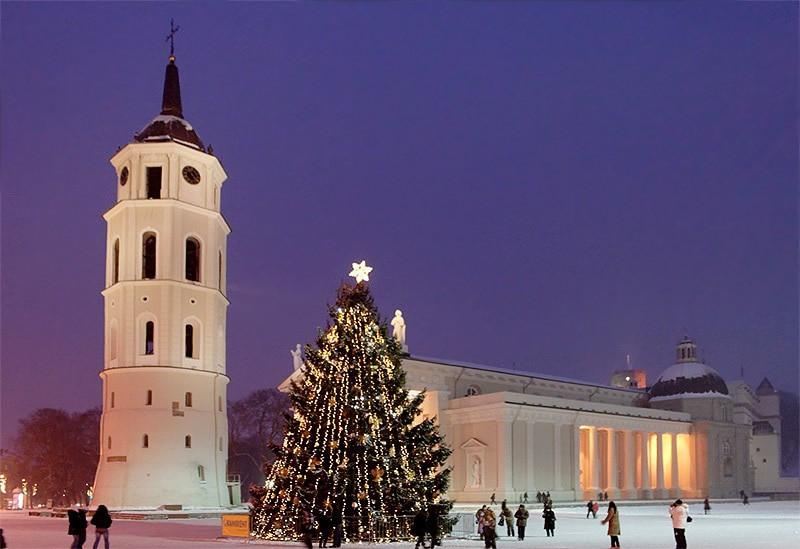 """""""Новый год в Вильнюсе - II""""  (3 дн./2 н.), Вильнюс - Тракай   Вильнюс"""
