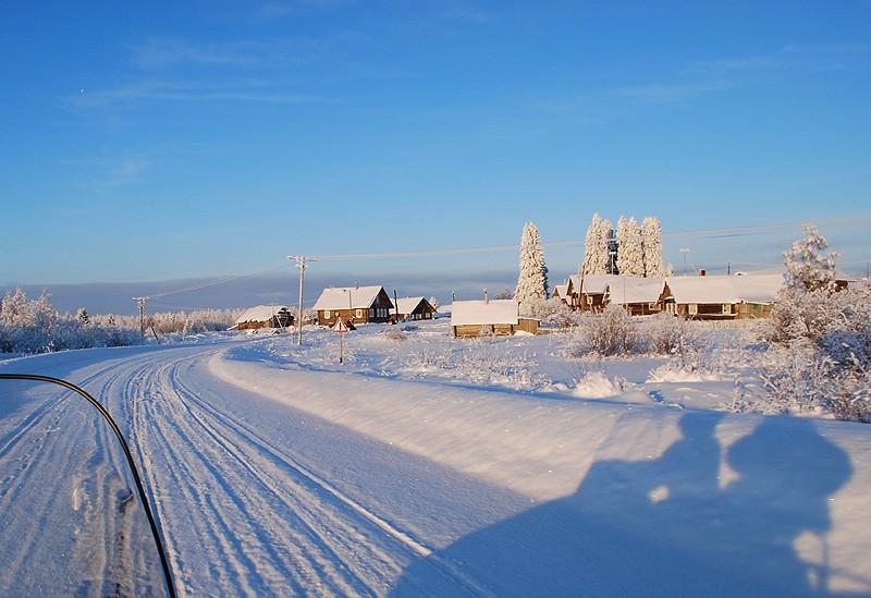 """Рождественское сафари на снегоходах"" (2 дн./1 н.), размещение на Б/о ""Алёкка"" | Деревня Рубчейла"