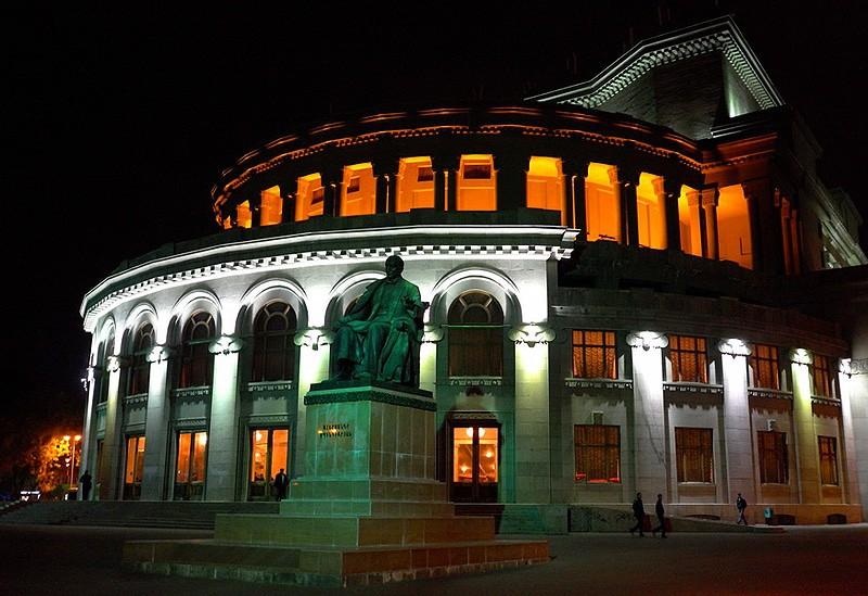 """""""Основное об Армении"""" (5 дн./4 н.), гостиницы 5*   Театр оперы и балета"""