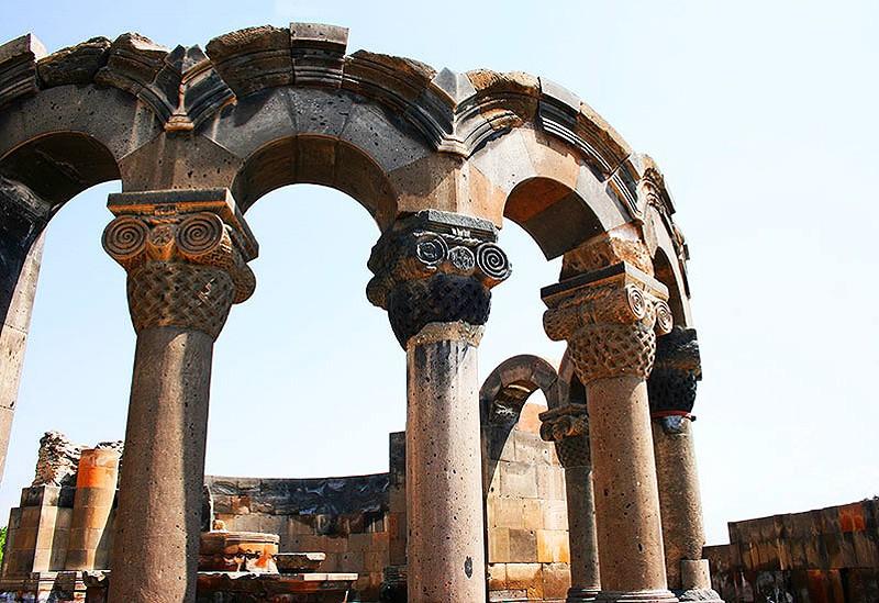 """""""Горные мечты"""" (4 дн./3 н.), Ереван, Армения   Храм Звартноц"""