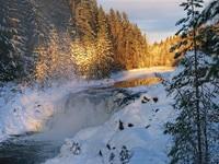 """А где-то в Карелии..."" (5 дн./4 н.), осень - зима - весна | Водопад Кивач"